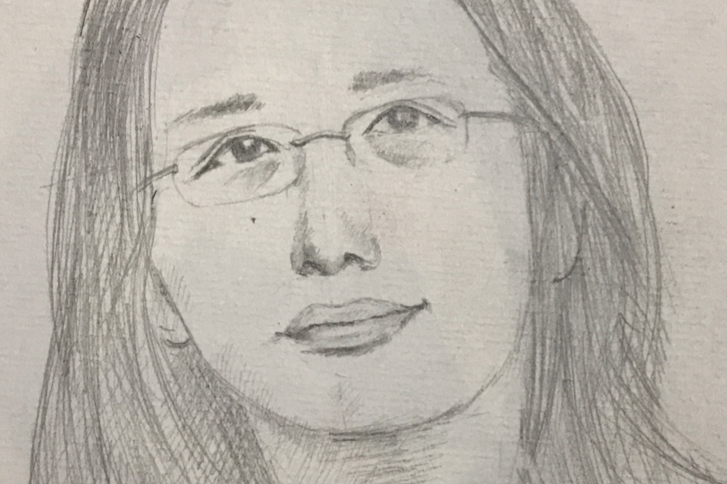 portrait of Audrey Tang